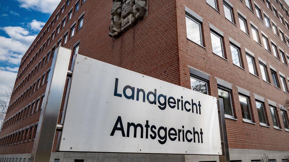 Landgericht in Landshut: Das Gericht entscheidet nun über eine mögliche Hauptverhandlung in dem Fall