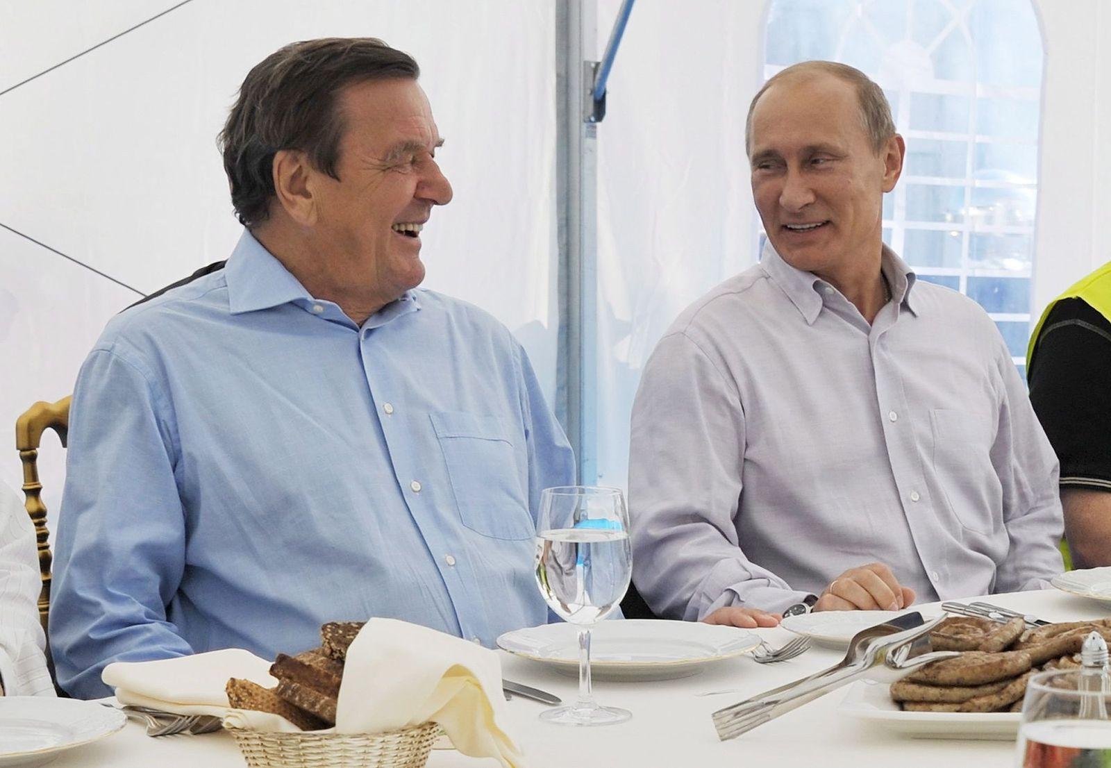 Putin/ Schröder