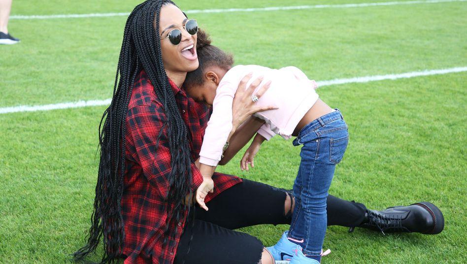 Ciara und Russel Wilson haben neben einem Sohn aus einer vorherigen Beziehung eine gemeinsame Tochter