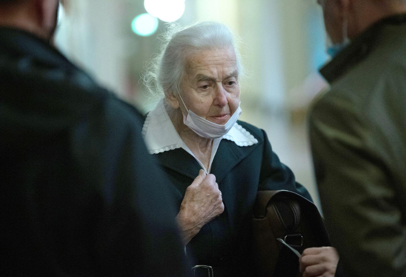 Prozess gegen Holocaust-Leugnerin Haverbeck
