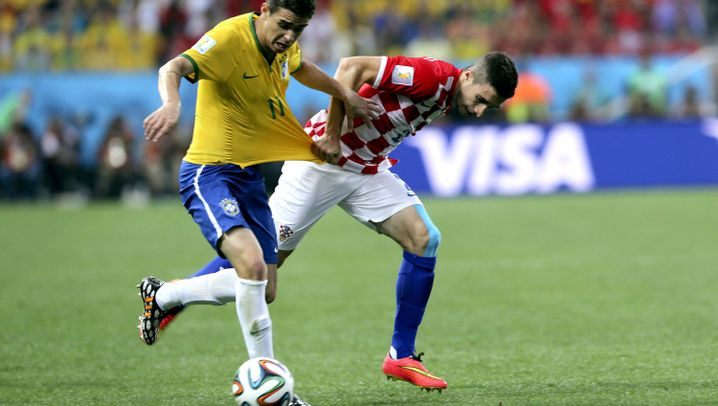 Brasilien-Spieler Oscar: Der Mann neben Neymar