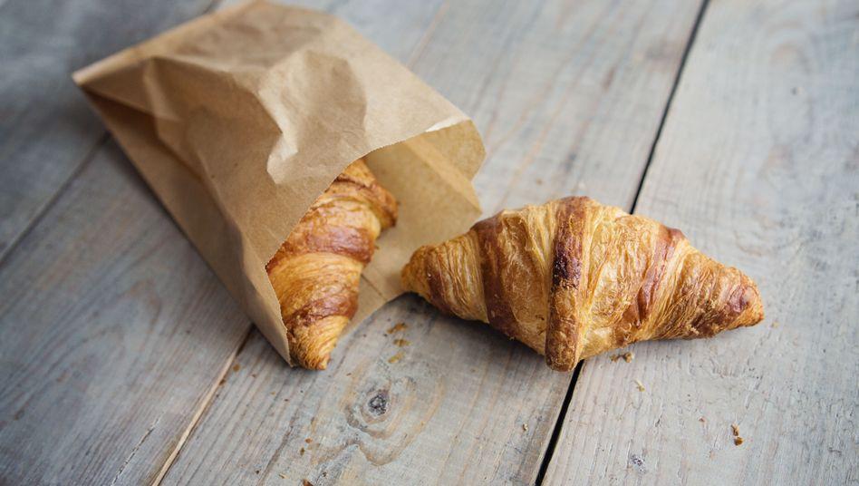 In Croissants sind oft größere Mengen teilgehärteter Fette enthalten.