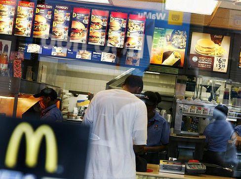 """McDonald's-Filiale in New York: """"In guten Zeiten haben die Leute einen guten Geschmack"""""""