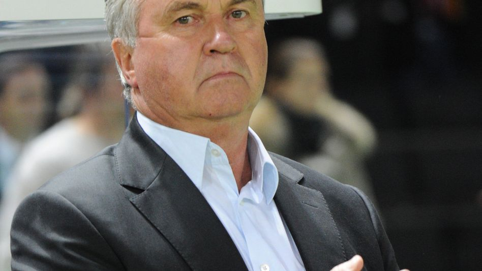 """Trainer Hiddink: """"Diese Entscheidung ist mir nicht leicht gefallen"""""""