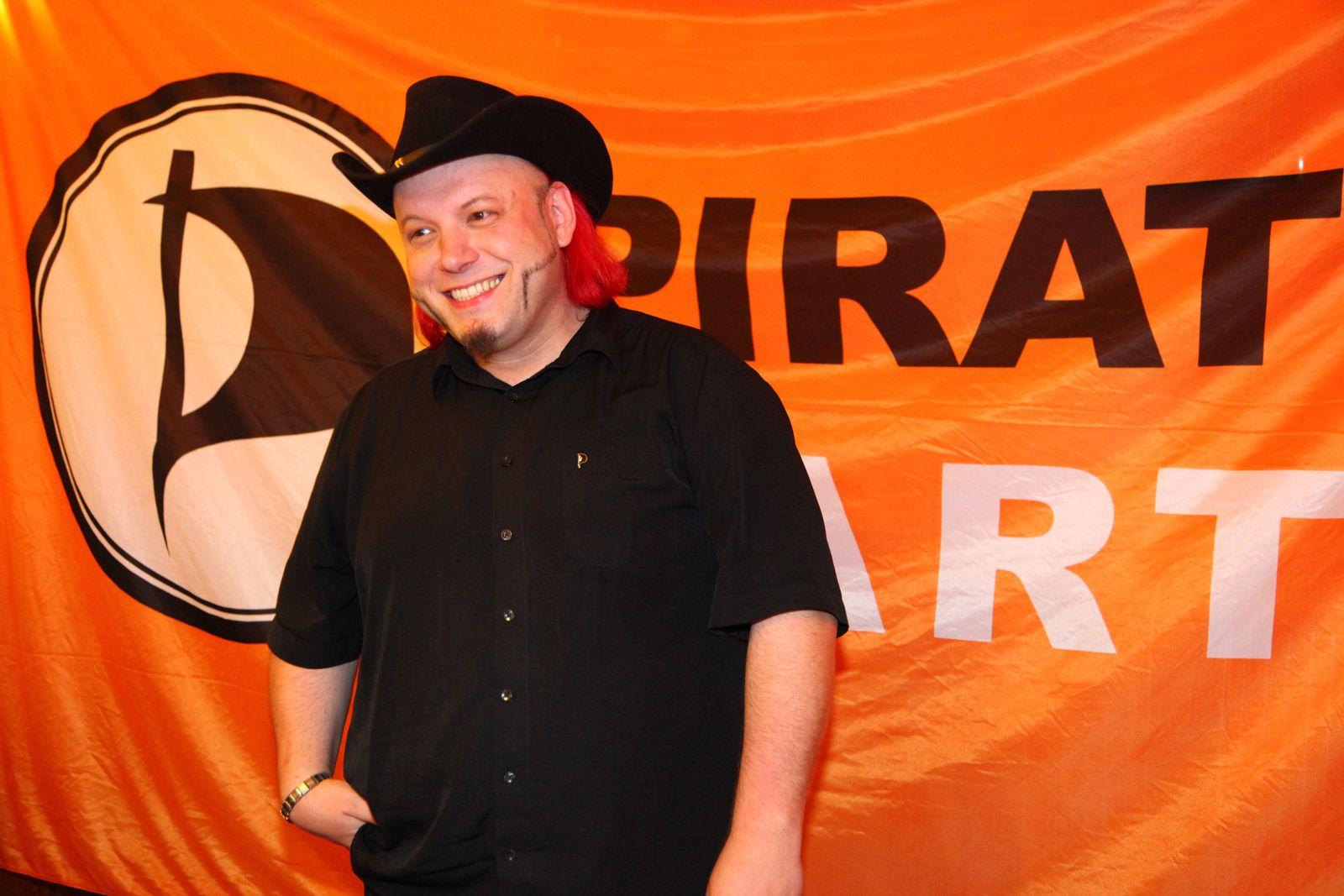 EINMALIGE VERWENDUNG Bruno Kramm / Piratenpartei