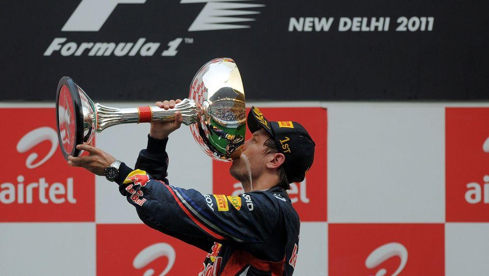 Grand Prix von Indien: Uhrwerk Vettel