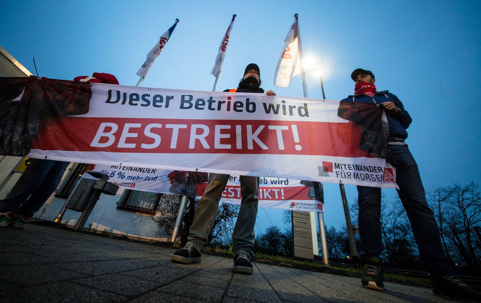 Warnstreiks bei Bosch