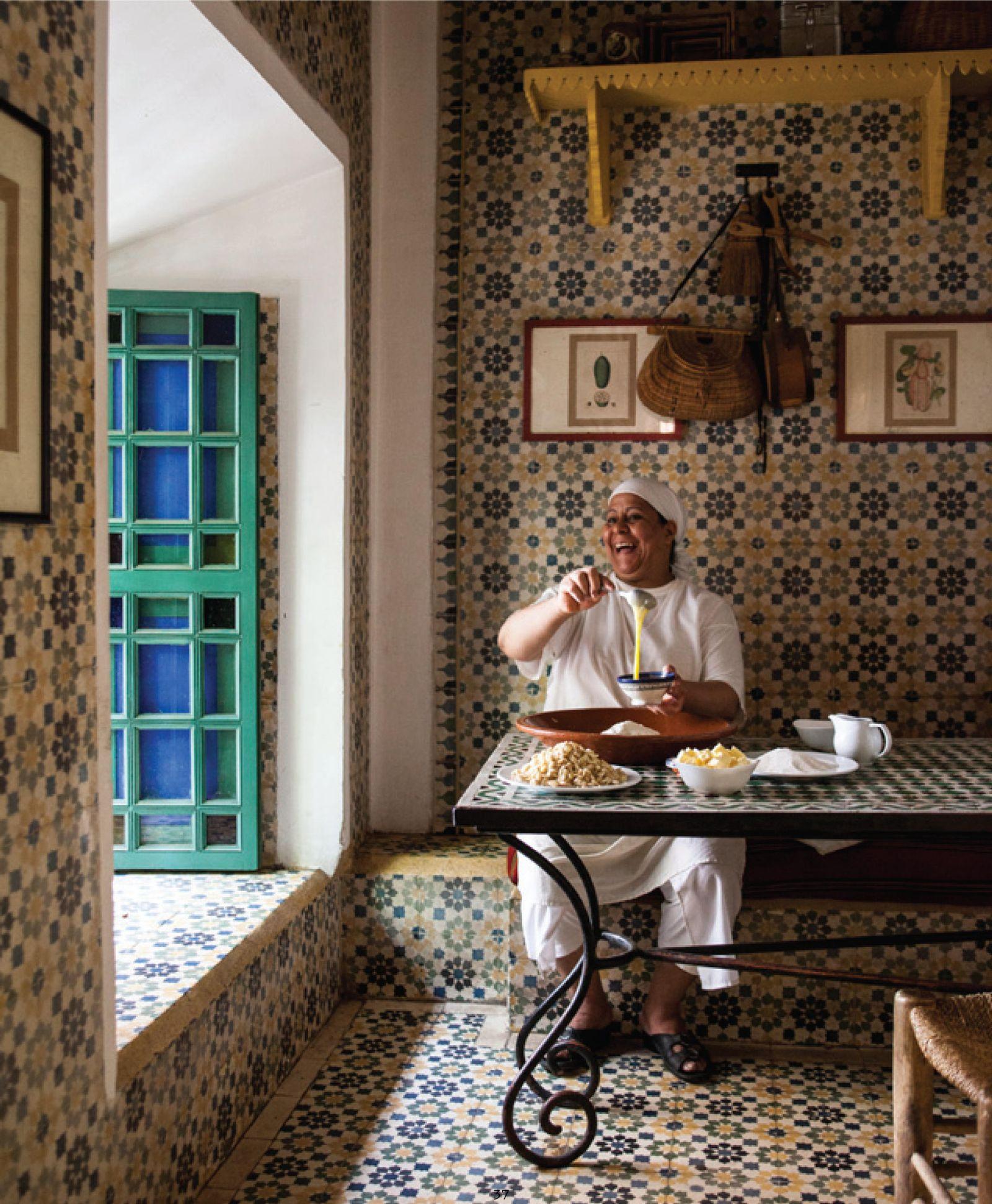 EINMALIGE VERWENDUNG Kochbuch Marokko