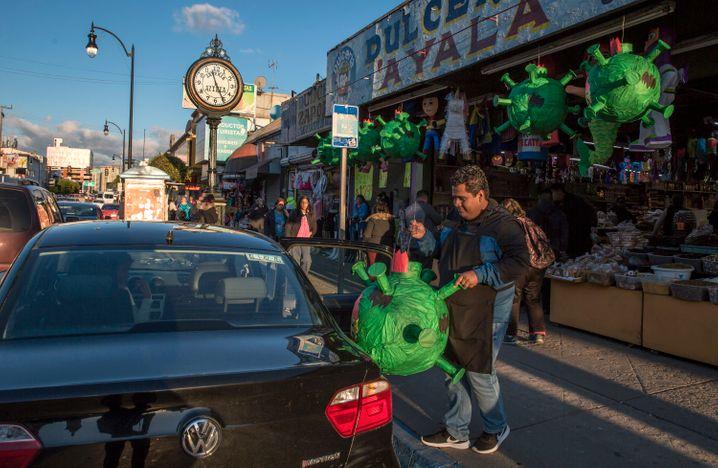 Corona-Tontöpfe in Tijuana: Die Regierung fürchtet die wirtschaftlichen Folgen eines Lockdowns