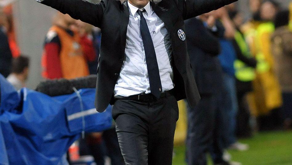 Juve-Coach Conte: Ende nach drei Titeln in Folge