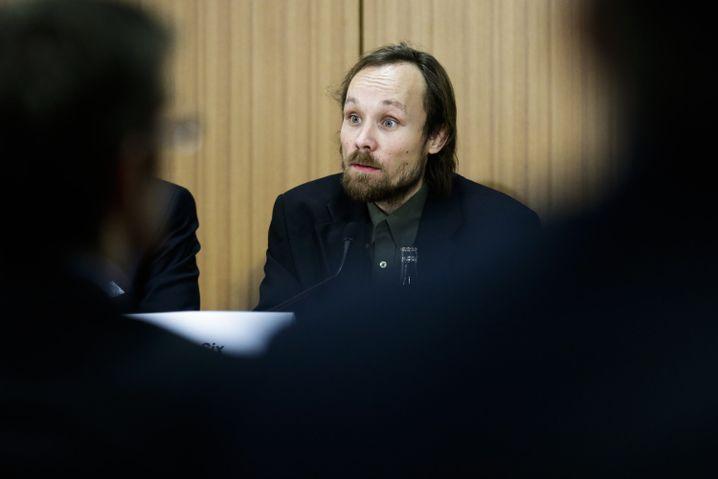 Journalist Billy Six (Aufnahme aus 2013)
