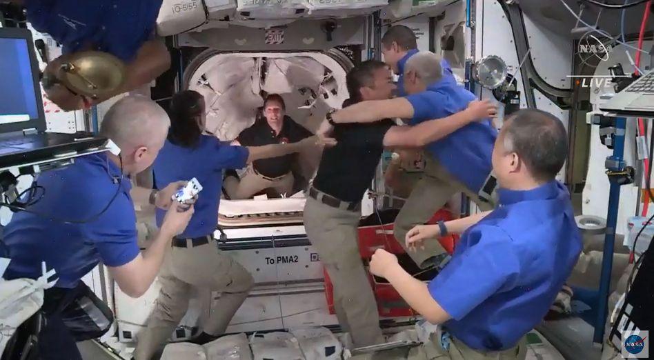 Was dieses Foto aus der Internationalen Raumstation nicht zeigt: Den Geruch