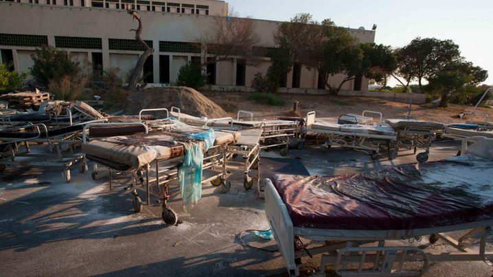 Tripolis: Zerstörte Stadt vor dem Wiederaufbau