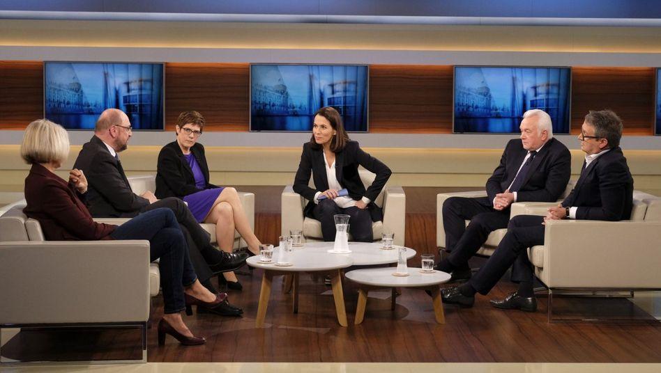 """Anne-Will-Talkrunde """"CDU mit neuer Chefin - reicht das für einen Neustart?"""""""