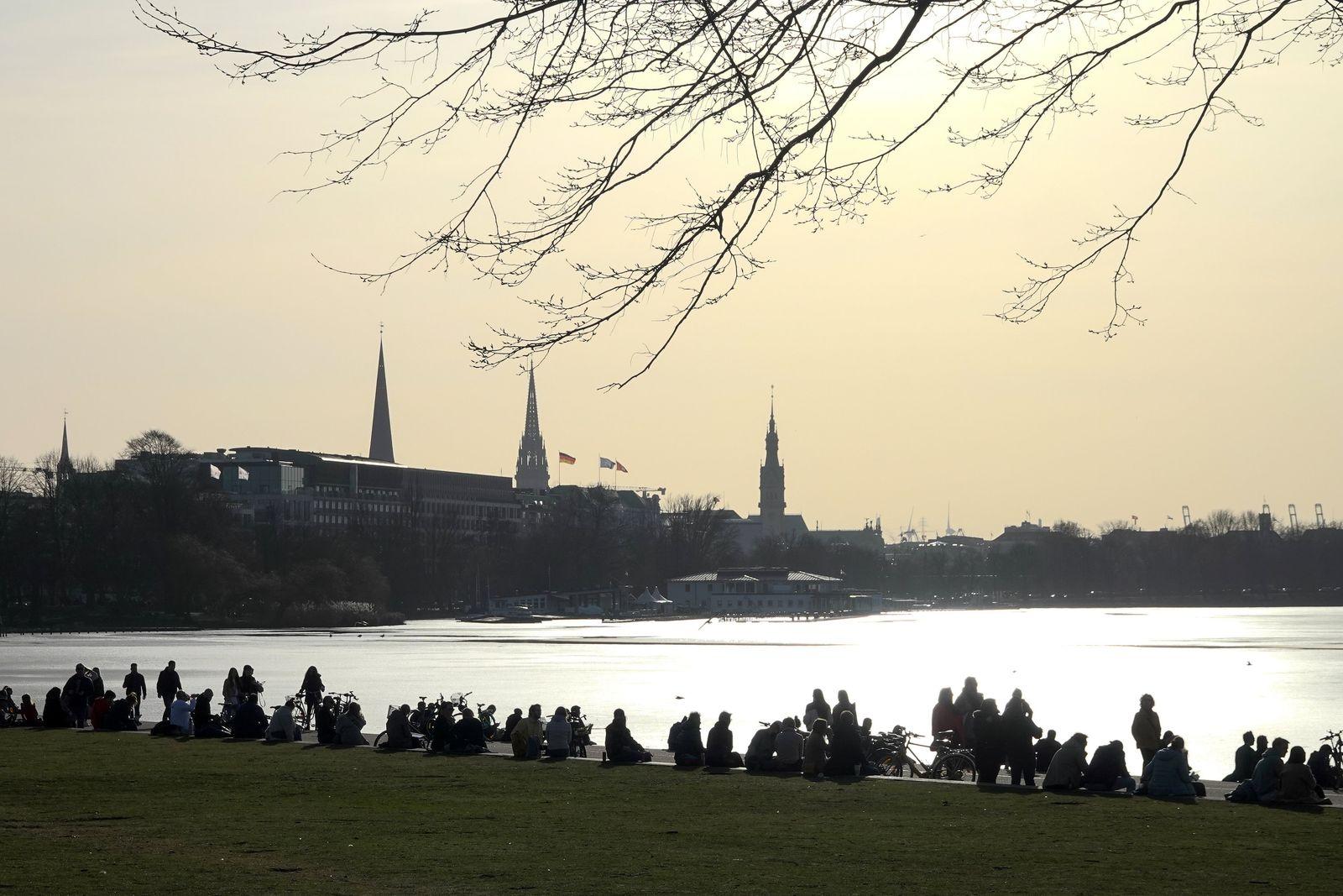 Frühlingswochenende - Hamburg