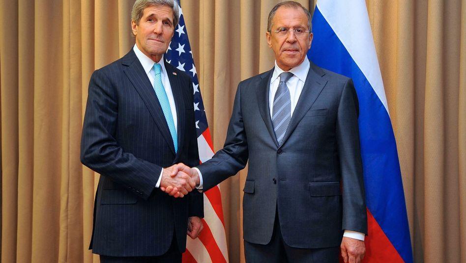 Ukraine-Gipfel in Genf: Russland stimmt Entwaffnung von Separatisten zu