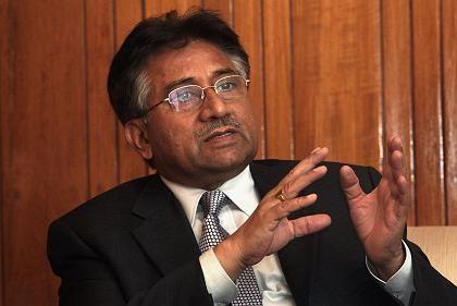 Präsident Musharraf: Er will nicht zurücktreten