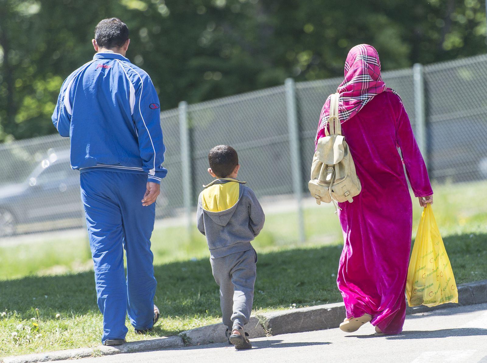Asyl/ Familie/ Kind/ Flüchtlinge
