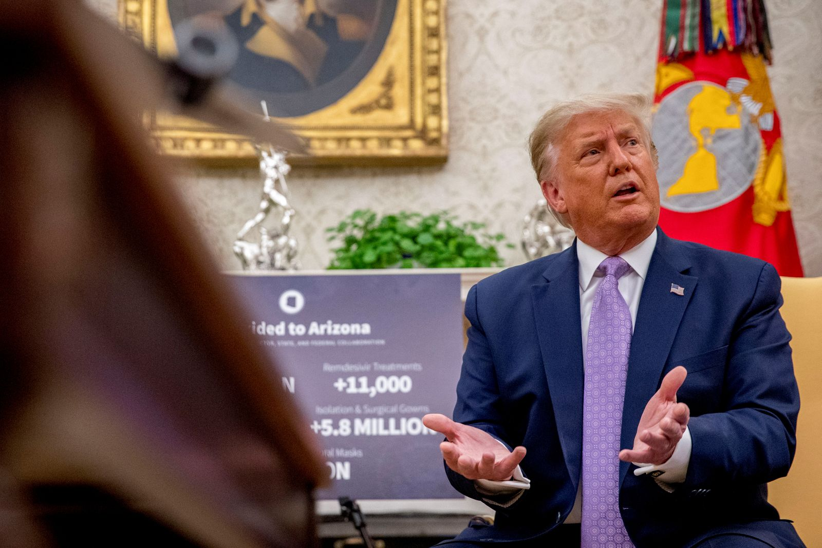 U.S. President Trump meets with Arizona Governor Ducey in Washington