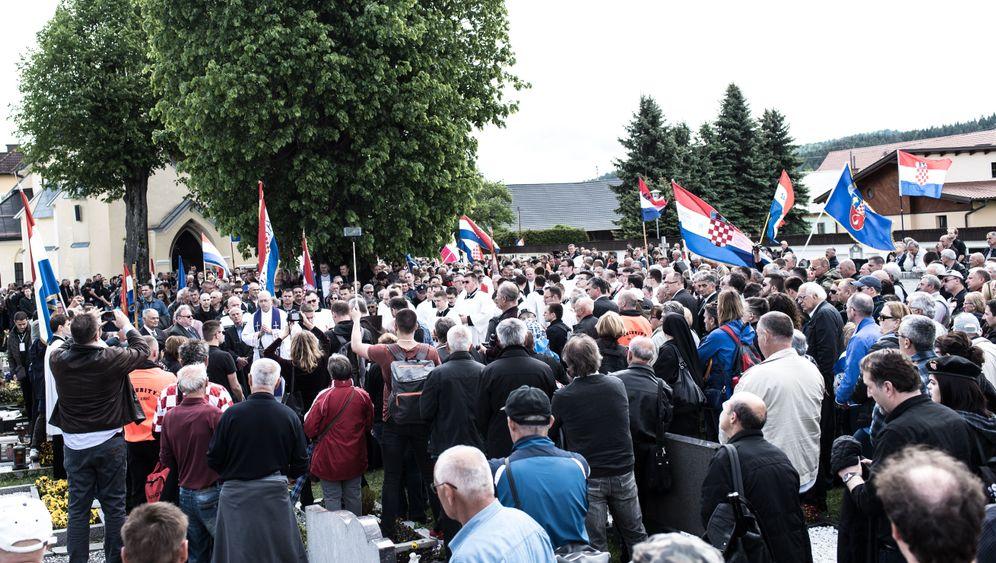 Neonazitreffen in Bleiburg: Gottesdienst mit Faschisten