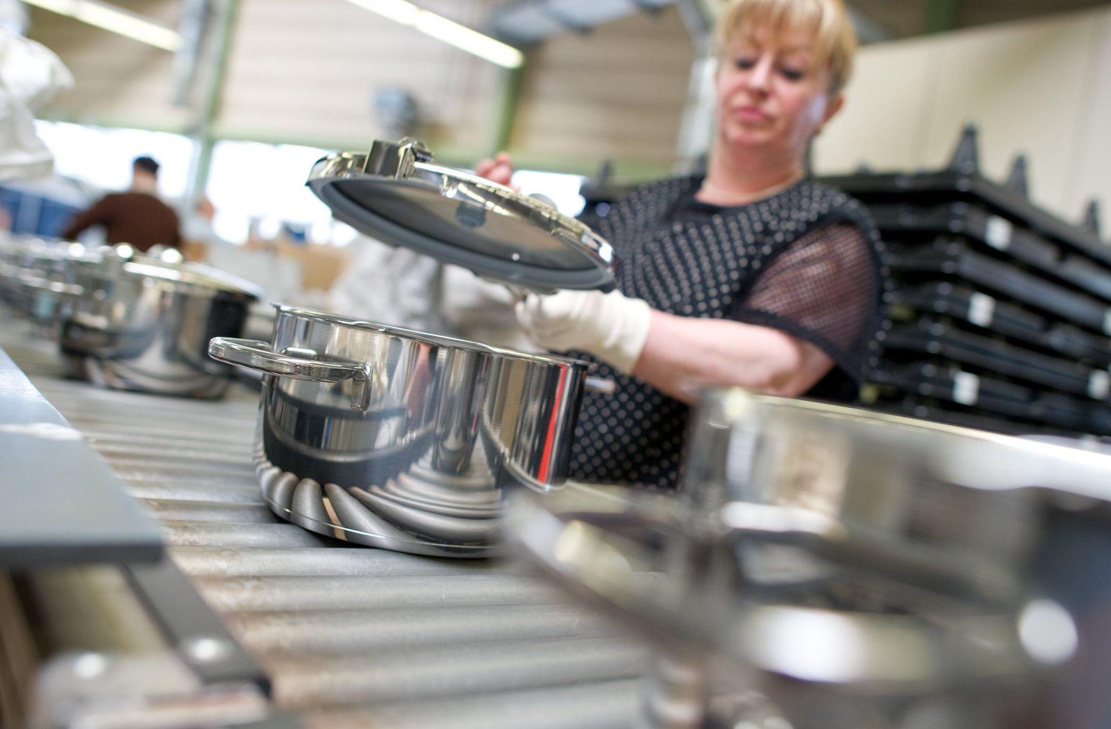 Küchengerätehersteller WMF - Bilanz 2009