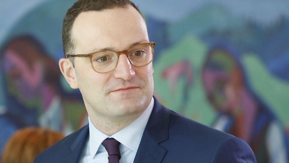Gesundheitsminister Jens Spahn (CDU)