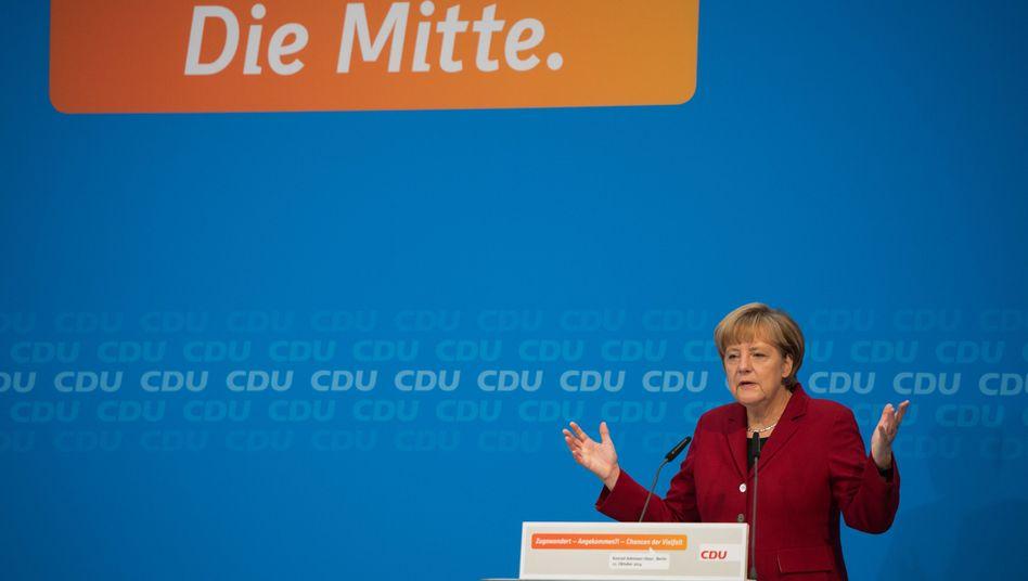 """Merkel auf CDU-Konferenz: """"Nicht von kleinen Widrigkeiten abhalten lassen"""""""