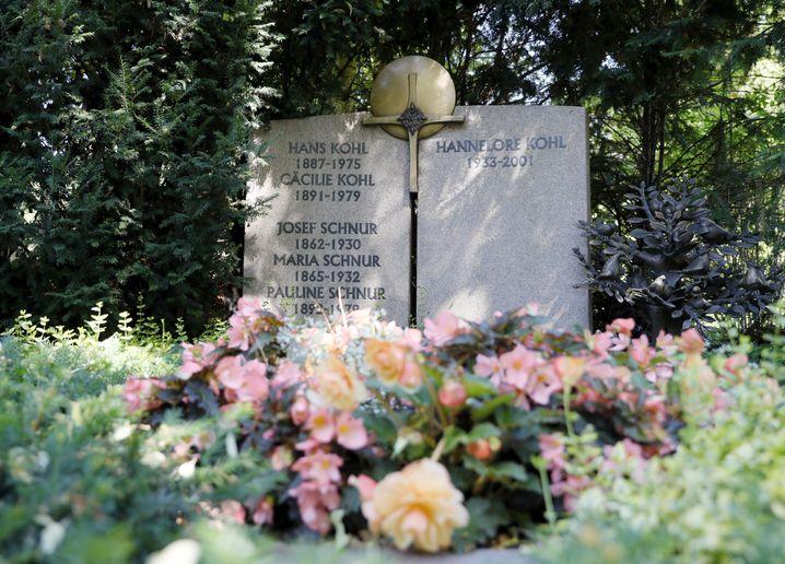 Familiengrab der Kohls in Ludwigshafen