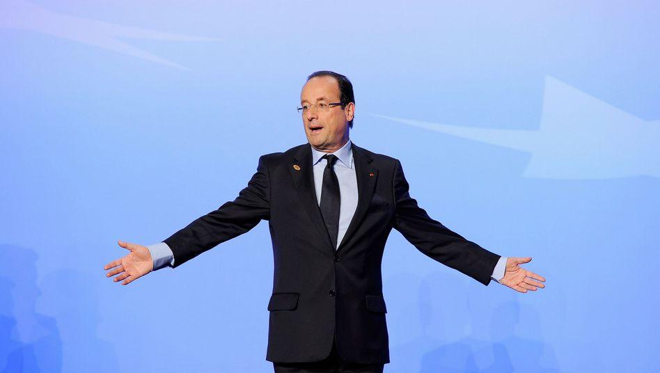 Frankreichs Präsident Hollande: Auf dem Boden der Finanzen angekommen