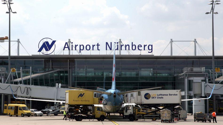 Der Nürnberger Flughafen