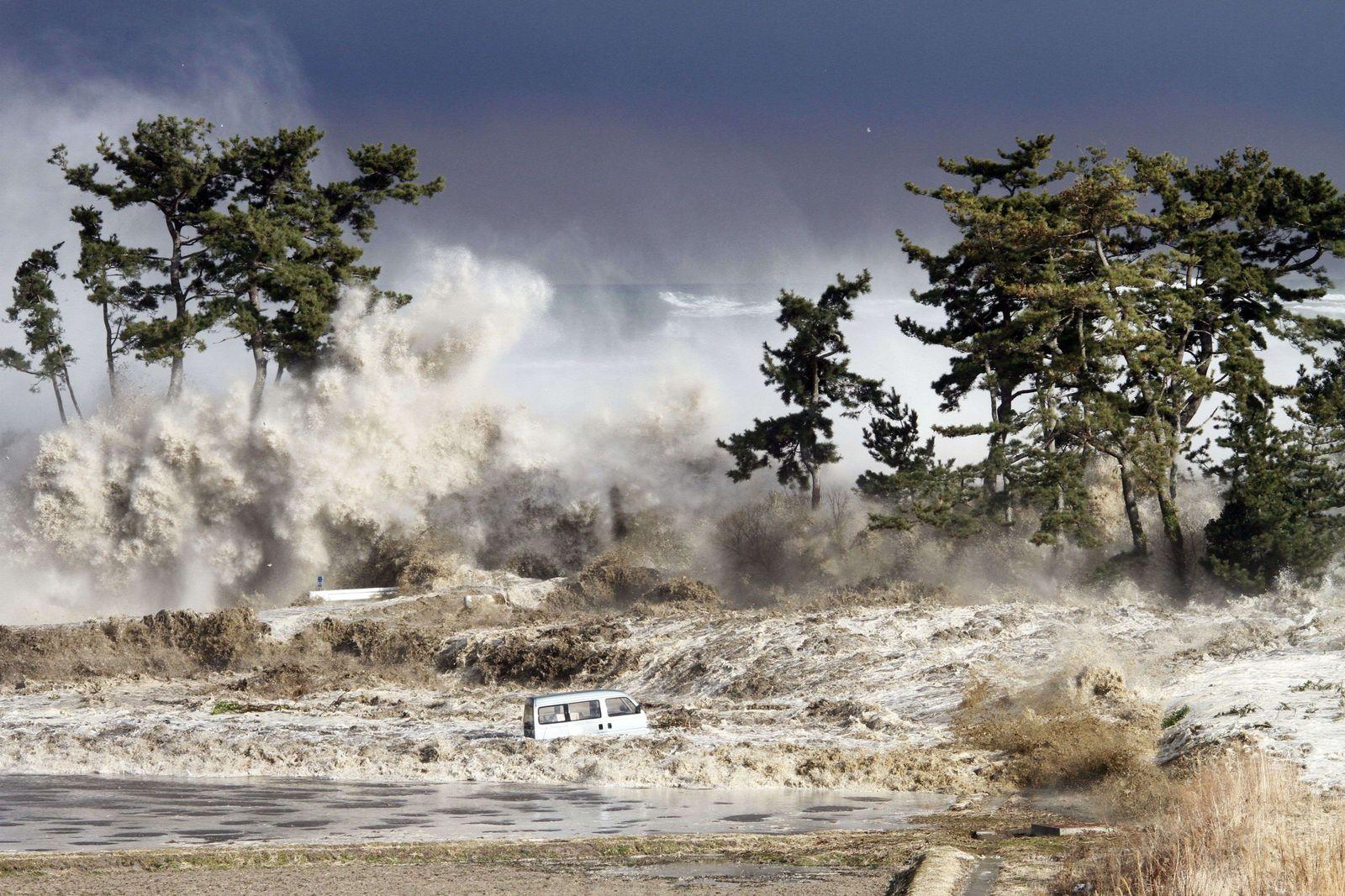Erdbeben Japan WELLE 11. März