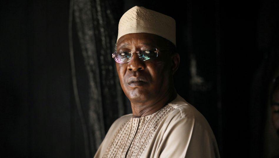 Der verstorbene Präsident des Tschad, Idriss Déby Itno