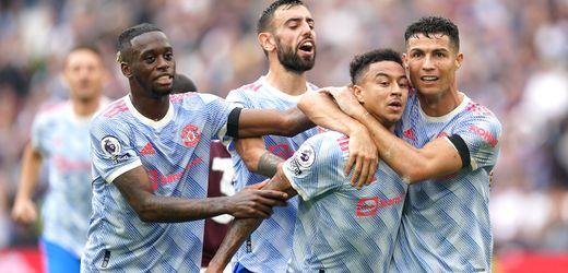 Premier League: Cristiano Ronaldo trifft auch bei Manchester-United-Sieg gegen West Ham