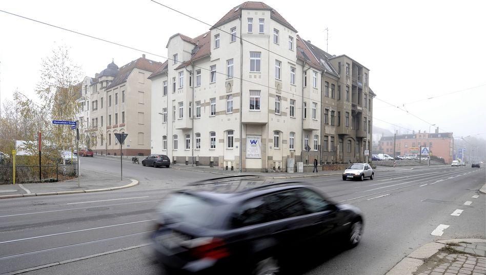 Zwickauer Polenzstraße: Hier soll Beate Zschäpe gewohnt haben