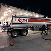 Tankstelle von Exxon Mobil: Im Raffinerie-Geschäft sind die Margen gering