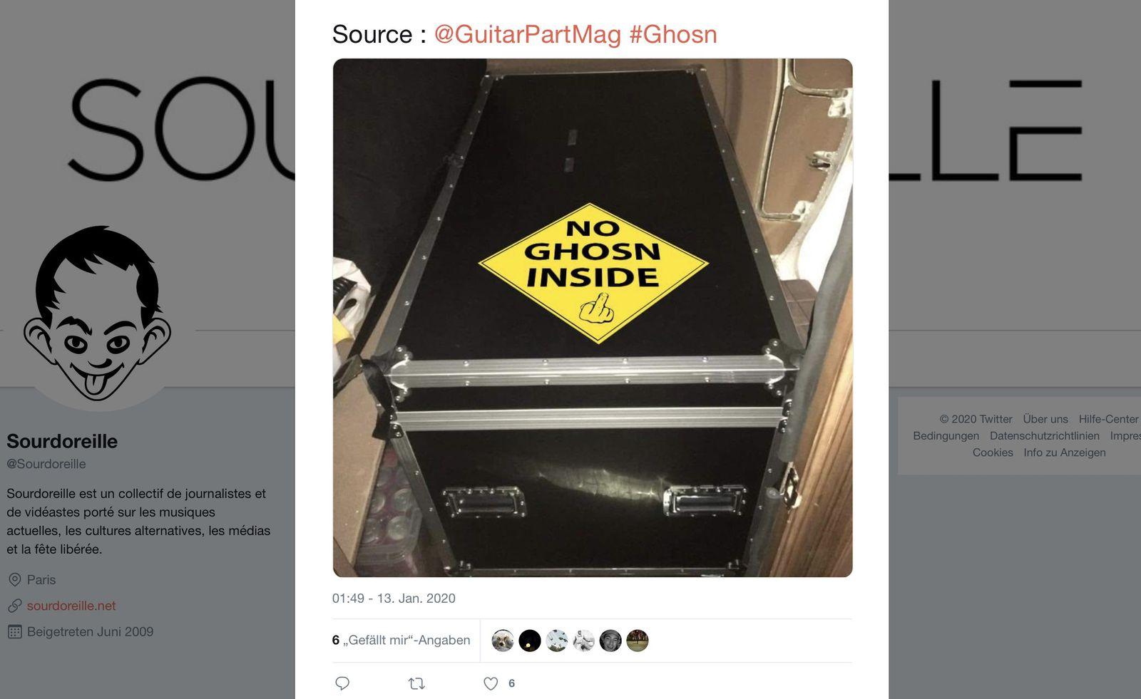 @GuitarPartMag #Ghosn