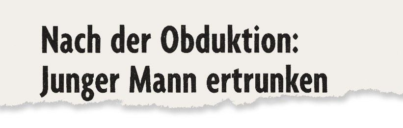 Aus der »Badischen Zeitung«