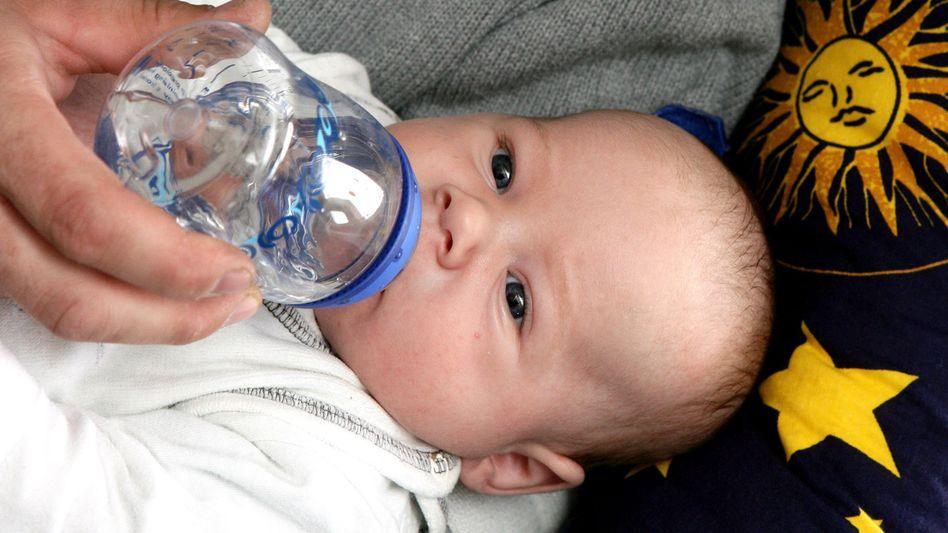 Baby (Symbolbild): Künftig ohne Süßmittel