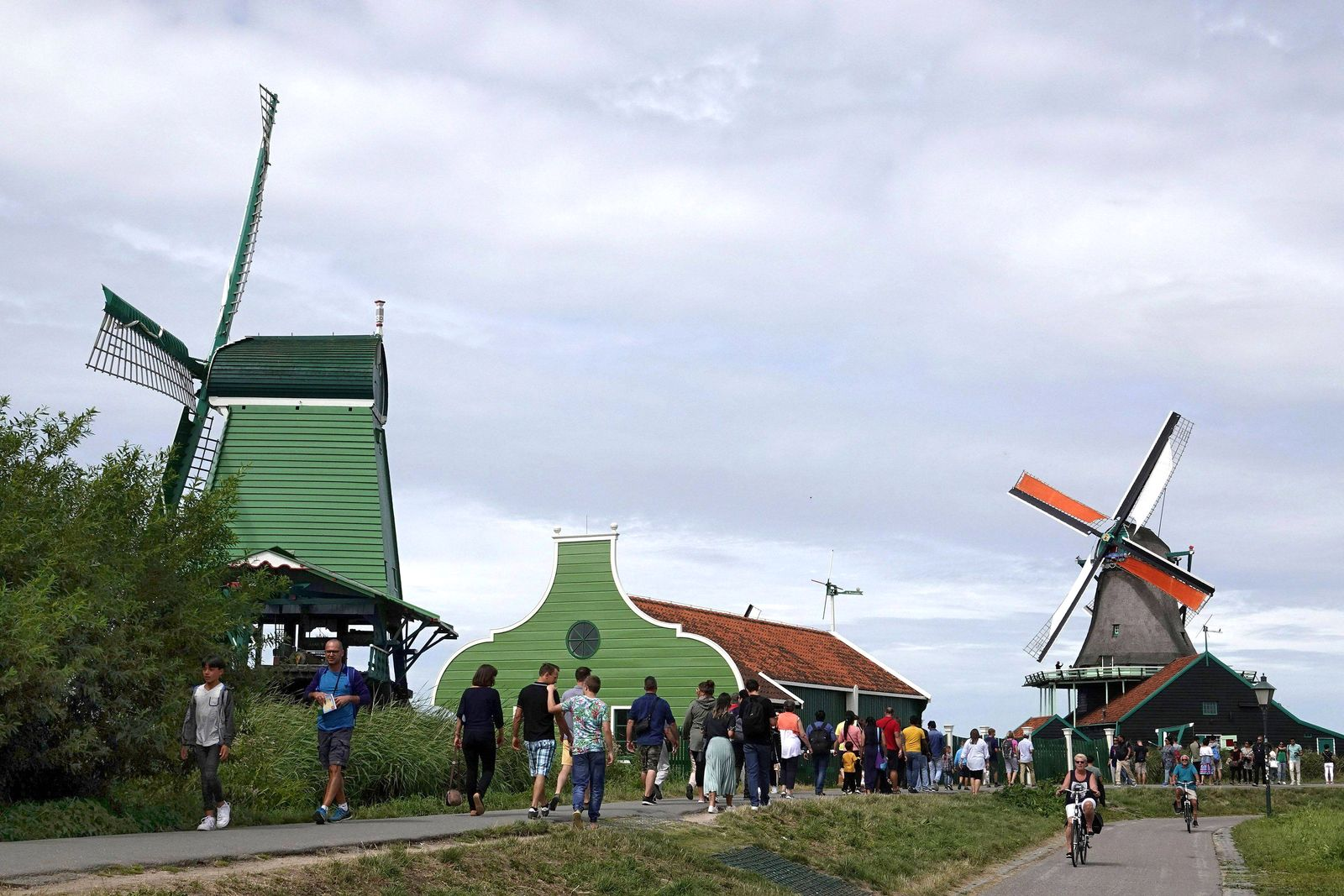 EINMALIGE VERWENDUNG Niederlande/ Touristen