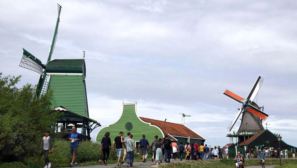 Touristen in den Niederlanden (Symbolbild)