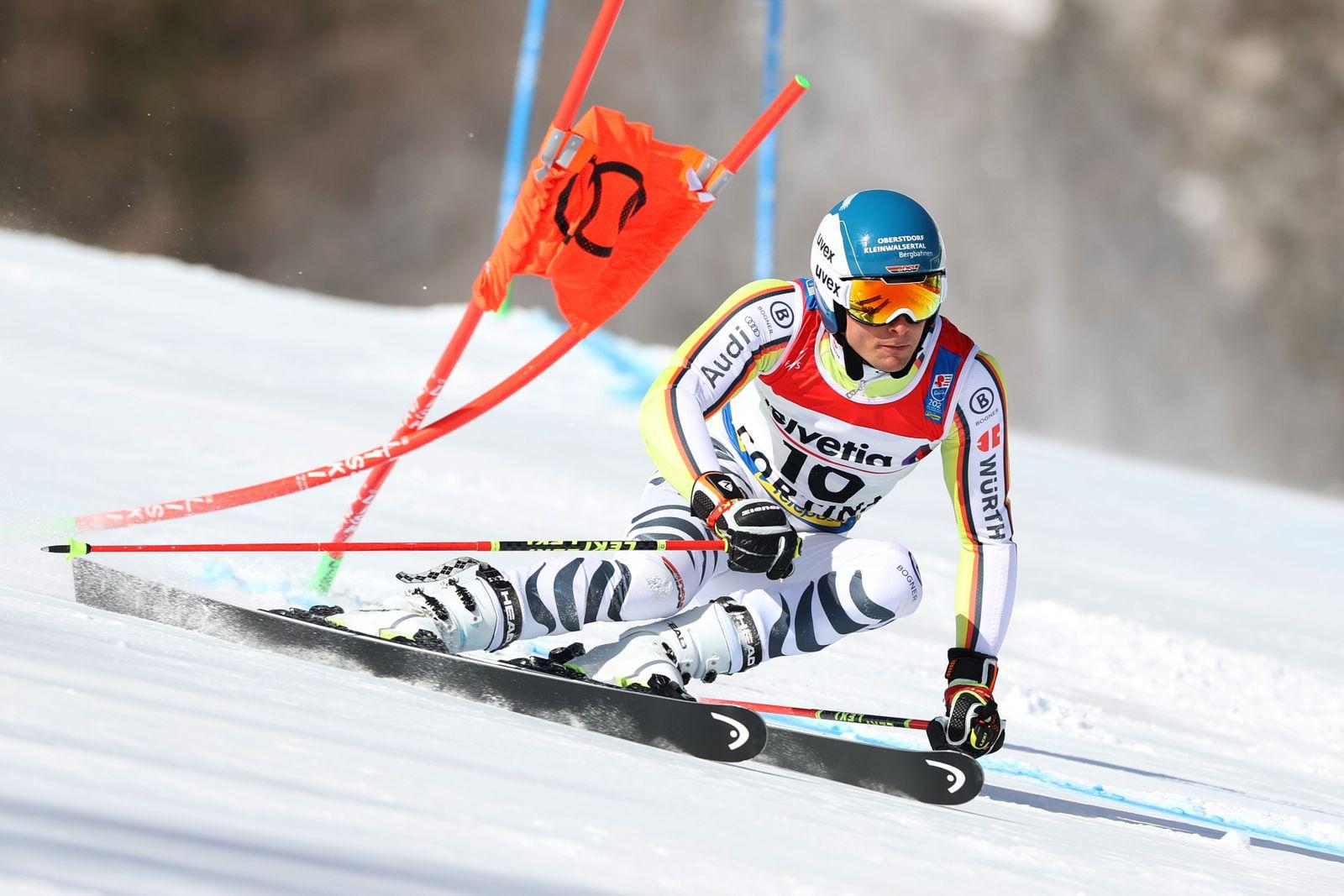 FIS World Ski Championships - Men's Giant Slalom