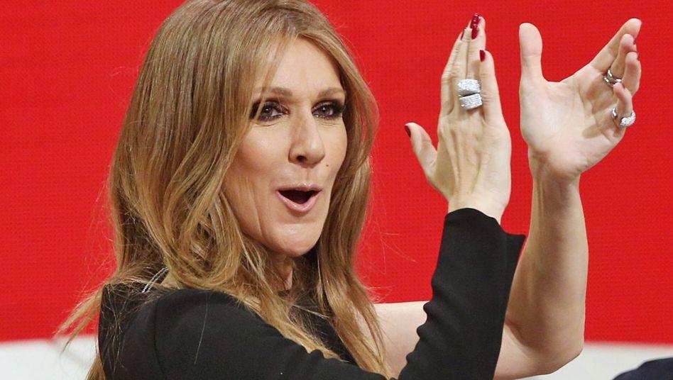"""Céline Dion (Archivbild): """"Wahnsinnig witzig"""" findet die Sängerin Dunns Video"""