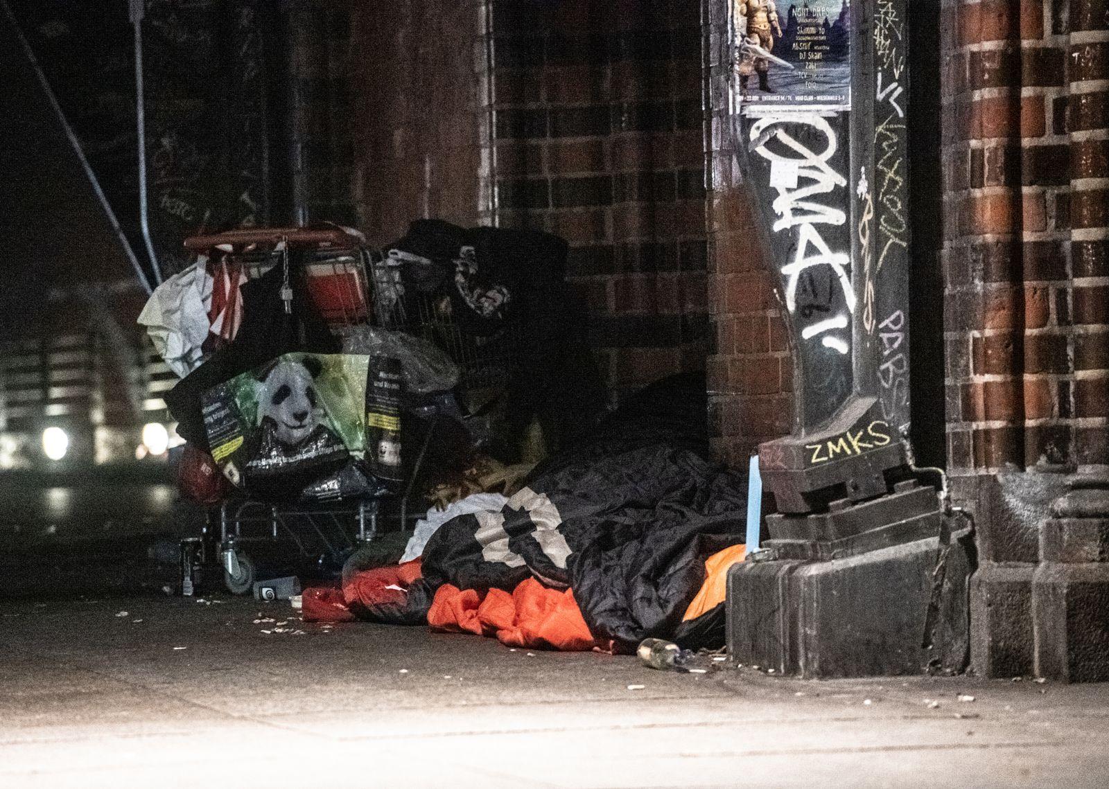 Obdachlose/ Kältetote