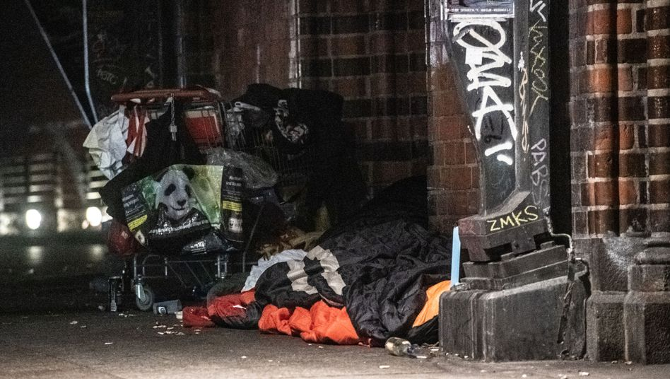 Auch Obdachlose sollen in der Statistik erfasst werden