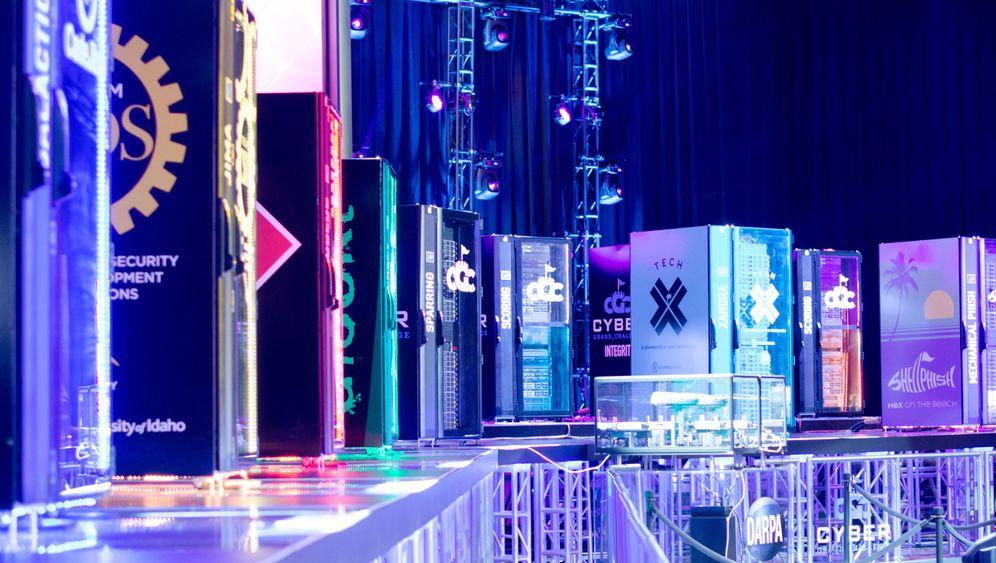 Hacking-Turnier in Las Vegas: Hackende Maschinen