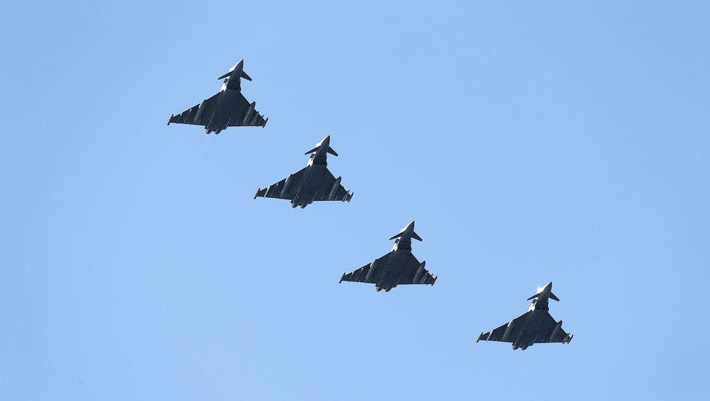 Transponder ausgeschaltet: Stumme Nato-Jets