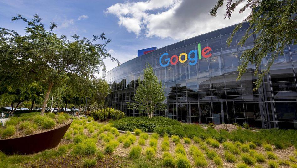 Googles Firmensitz in Kalifornien