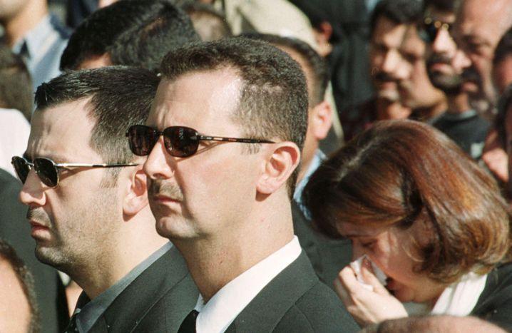 Mahir al-Assad (links): Skrupellos, aggressiv, jähzornig