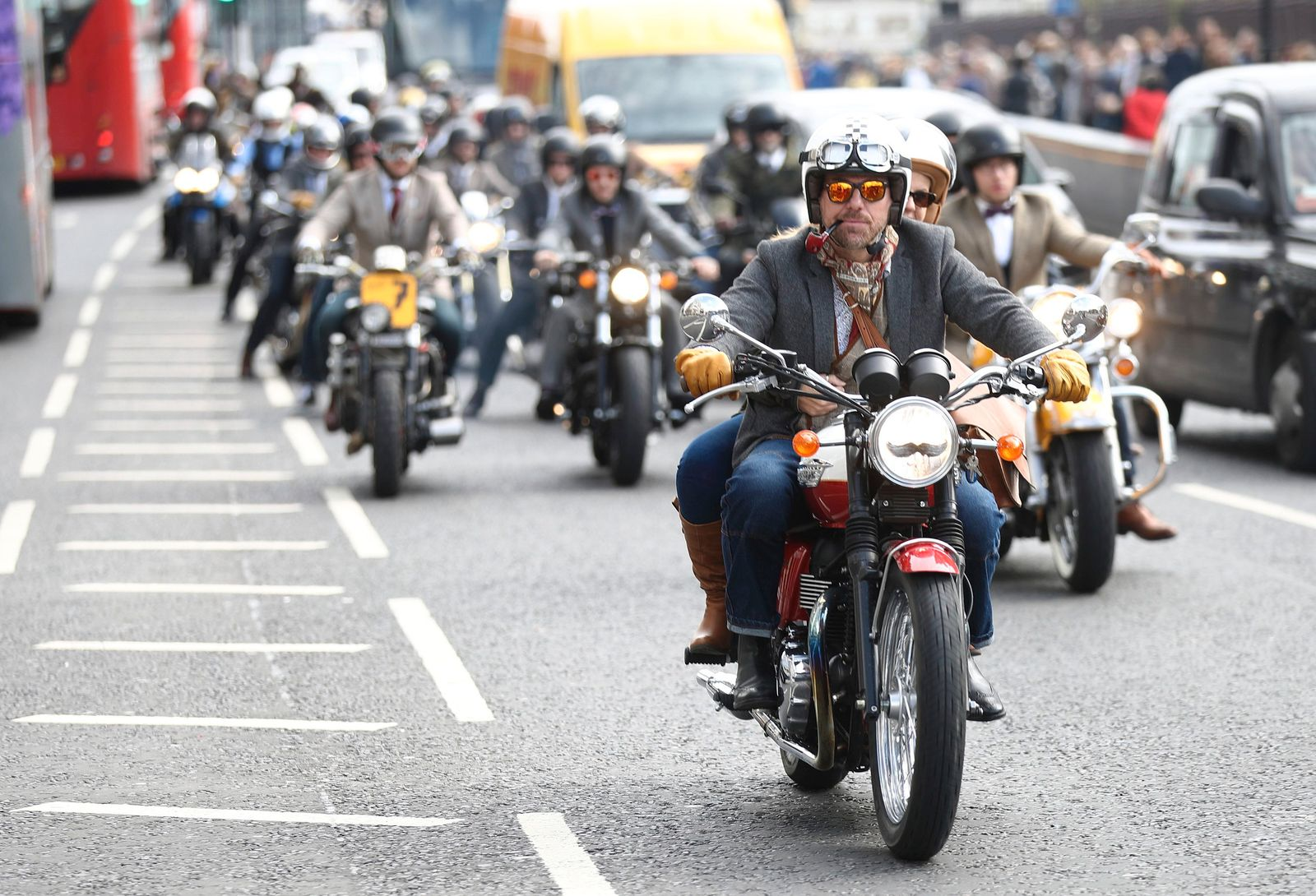 The Distinguished Gentleman's Ride Through London To Raise Awareness And Help Fund The Cure For Prostate Cancer, Sponsored By Zenith Watches