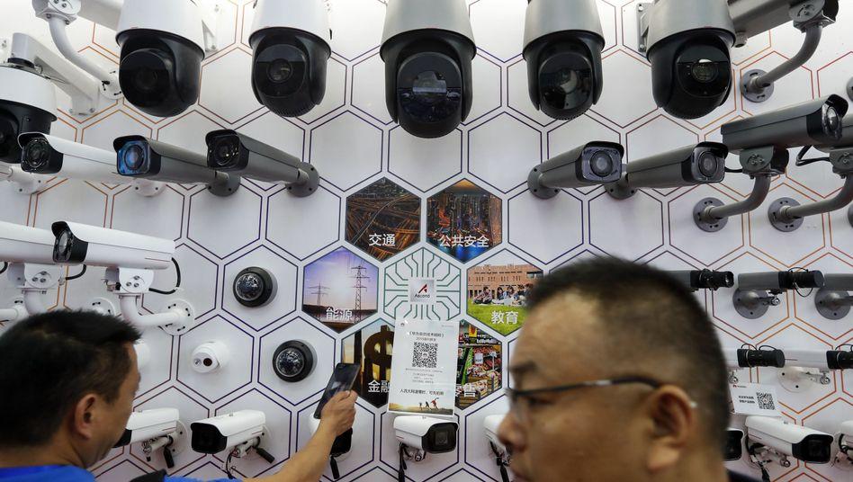 Überwachungstechnologie von Huawei